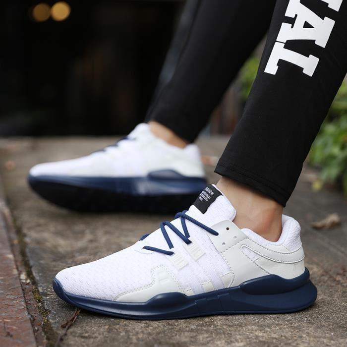 baskets Chaussures de sport pour hommes chaussures de course chaussures en maille RtnHWCk