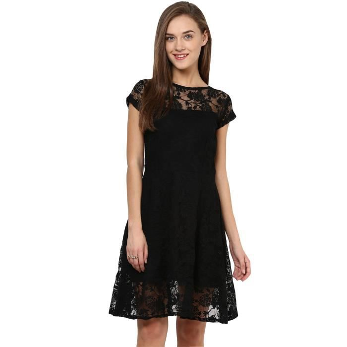 Womens Polyester Skater Dress A89CV Taille-36