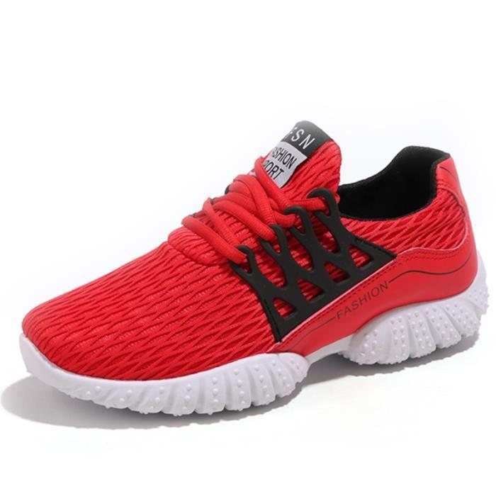 Nouveau chaussures pour enfants d'été garçon grandes chaussures de course vierge chaussures maille filet Ra9bL1sW