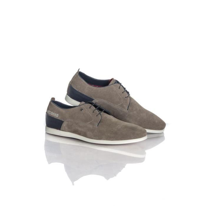 Mistral Chaussures à Redskins lacets gris marine Chaussures xFF4qPI