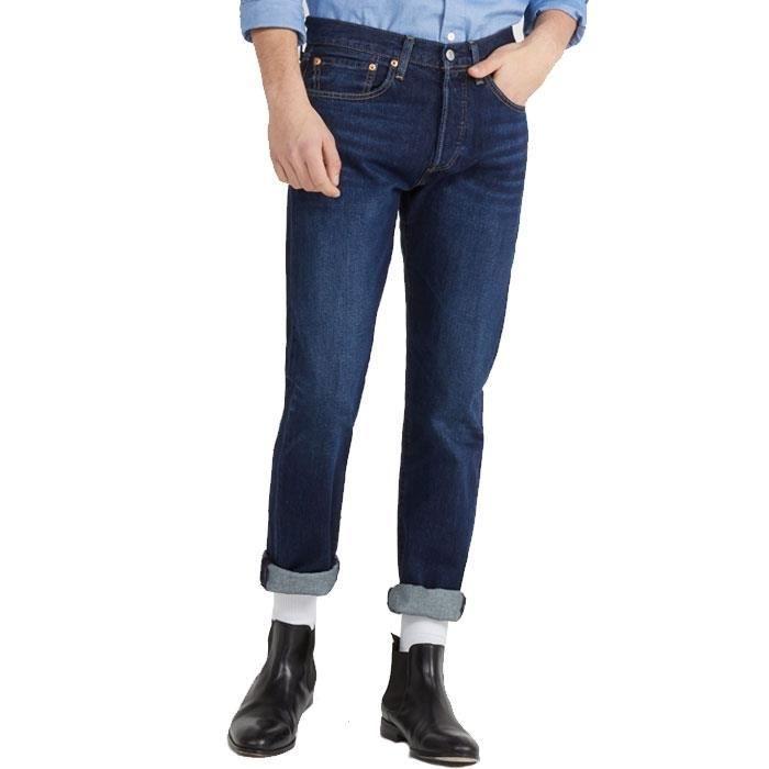 JEANS Jean LEVIS 501 Taper Homme Original Fit Bleu