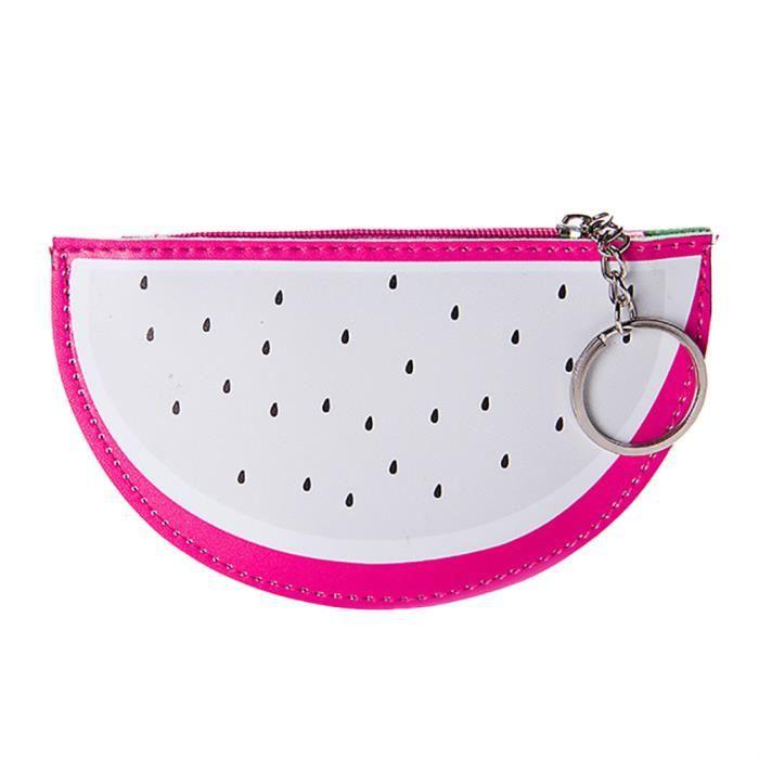 Snacks Fruit Filles Holder Simple Pouch Change Populaire femmes Ynz09147852 ®estimetown Créatif Mignon Key Mode monnaie Sac Porte FxECqw800R