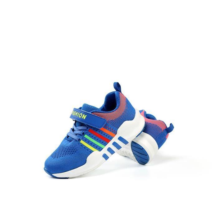 Chaussures de sport pour enfants Chaussures de course à pied respirantes DT9ChOb