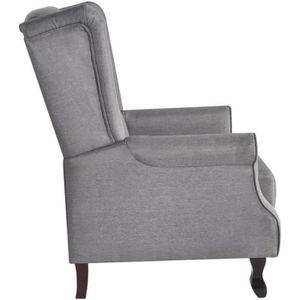 Fauteuil gris confortable Achat Vente Fauteuil gris