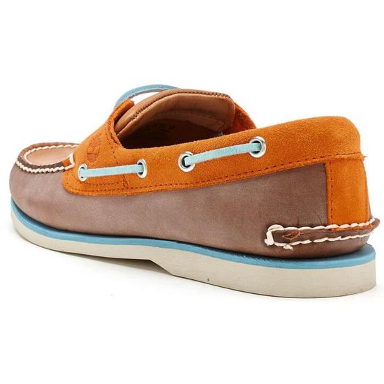 Timberland Earthkeepers Heritage 2 Eye Chaussure bateauen Marron 6200A OlTcO04tJ5