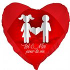 Carte Cdiscount St Valentin.Coussin St Valentin Coeur Toi Et Moi Pour La Vie Un Cadeau Ideal Pour La Saint Valentin