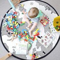 Dessin animé bébé couverture de tapis de jeu de tapis rampant jouer décoration de salle de jeu