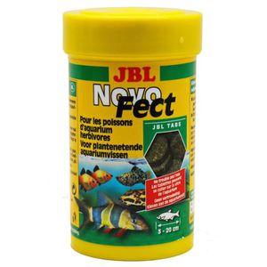 JBL 160 tablettes alimentaire Novofect - Pour poisson herbivores - 100ml