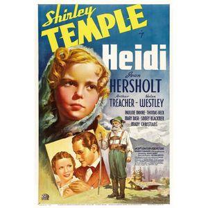 AFFICHE - POSTER HEIDI repro affiche de cinéma 60x90 cm