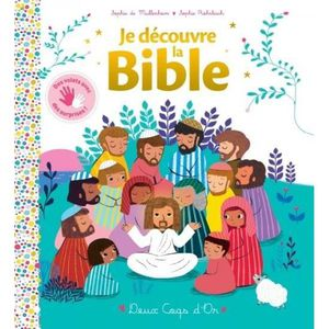 DOCUMENTAIRE ENFANT Livre - ma première bible ; livre à volets