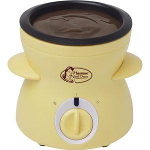 FONDUE ÉLECTRIQUE BESTRON DCM043 Fondue à chocolat - Jaune Pastel