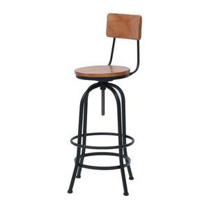 chaises de bar retro fer reglabe hauteur