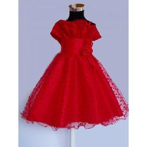 robe de demoiselle d 39 honneur rouge achat vente robe de. Black Bedroom Furniture Sets. Home Design Ideas