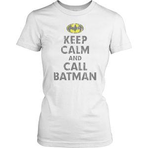 T-SHIRT Femmes t-shirt DTG Print - Keep Calm And Calm Batm