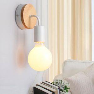 APPLIQUE  Style Modern Lampe Murale Applique Blanc (Ampoule