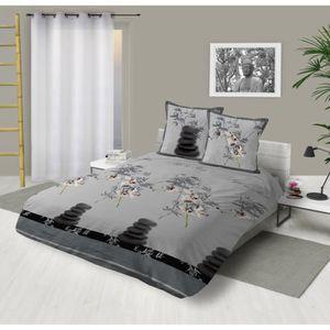 couvre lit orchidee Parure de lit 220 x 240 orchidee   Achat / Vente pas cher couvre lit orchidee