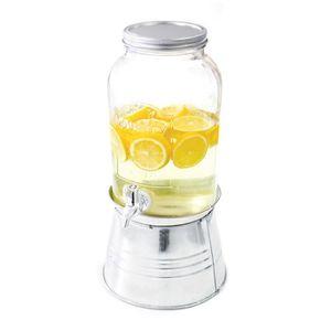 DISTRIBUTEUR DE BOISSON Distributeur de boisson vintage en verre 3.75L Aut