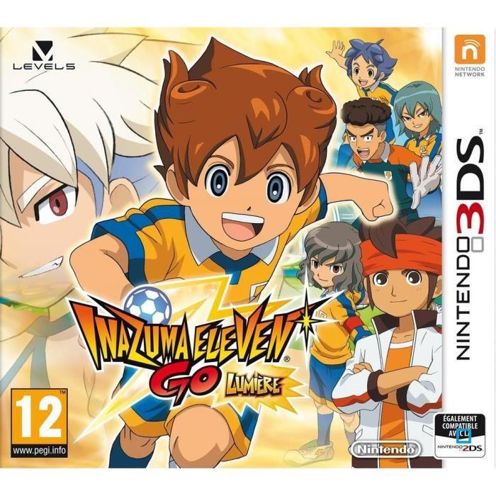 JEU 3DS Inazuma Eleven Go Lumière Jeu 3DS
