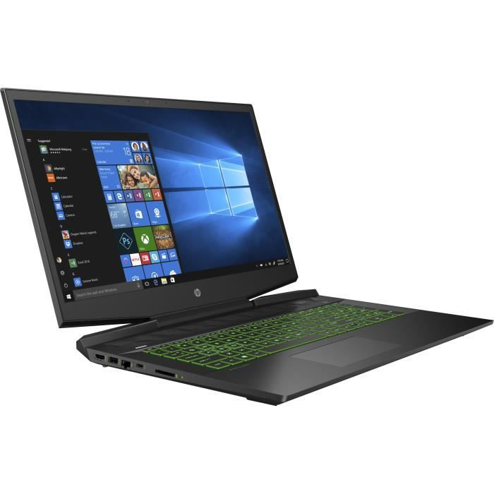"""HP PC Portable 17-cd1082nf - 17""""HD - i5 - RAM 8Go - Stockage 128Go SSD + 1To HDD - Windows 10"""