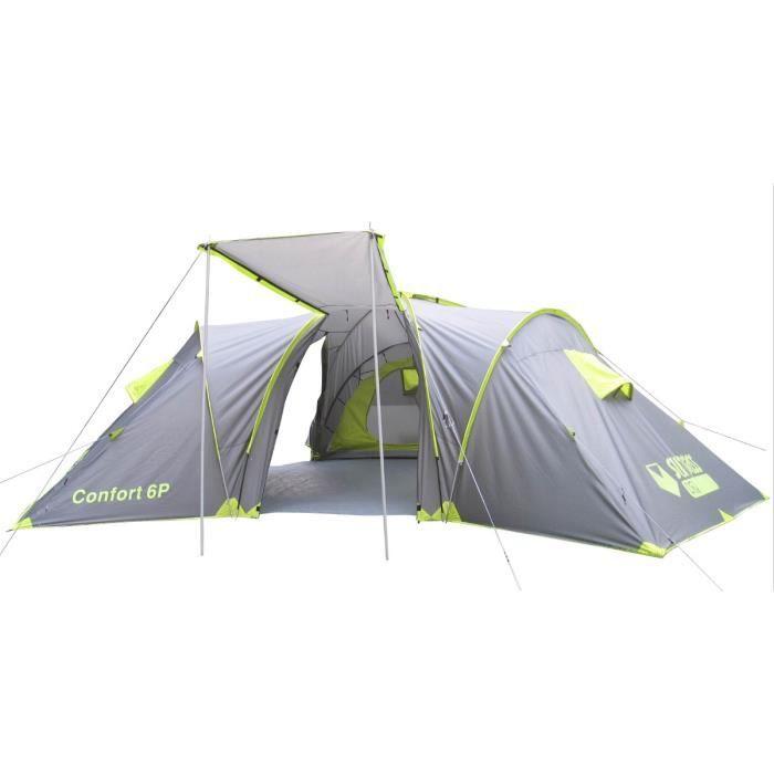 TENTE DE CAMPING SURPASS Tente Camping Confort 6 Places