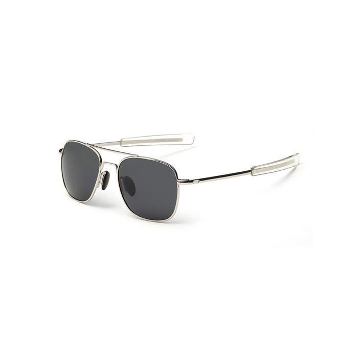 Lunettes de soleil Metal Frame hommes Polarized Trendy Classique Accessoire Lunettes 231