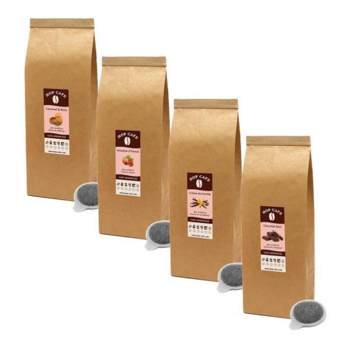 CAFÉ Pack Éco 80 dosettes ESE de Café finement aromatis