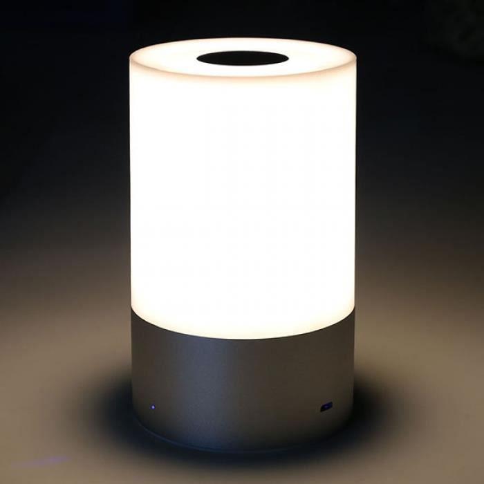 Lampe Chevet Led Tactile Capteur Blanc Chaud Dimmable Intelligente