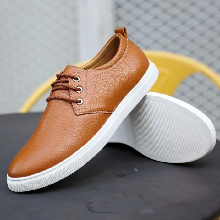 ronde pour chaussures En de sport laçage cuir h gwqq7WxSFE