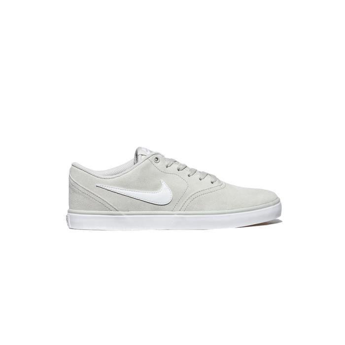 Chaussures Nike SB SB SB Check Solar Blanc Blanc Achat Vente ea2c26