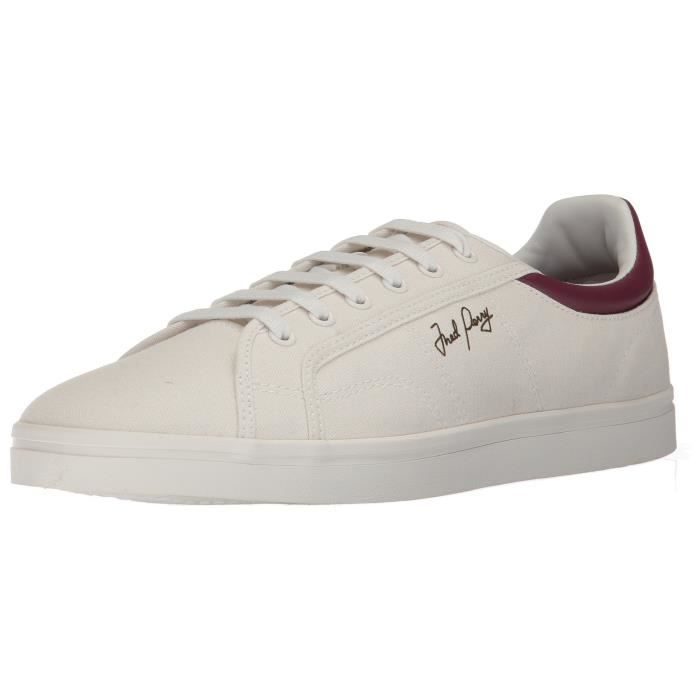 Fred Perry Sidespin Toile Sneaker Mode JS5M3 Taille-42