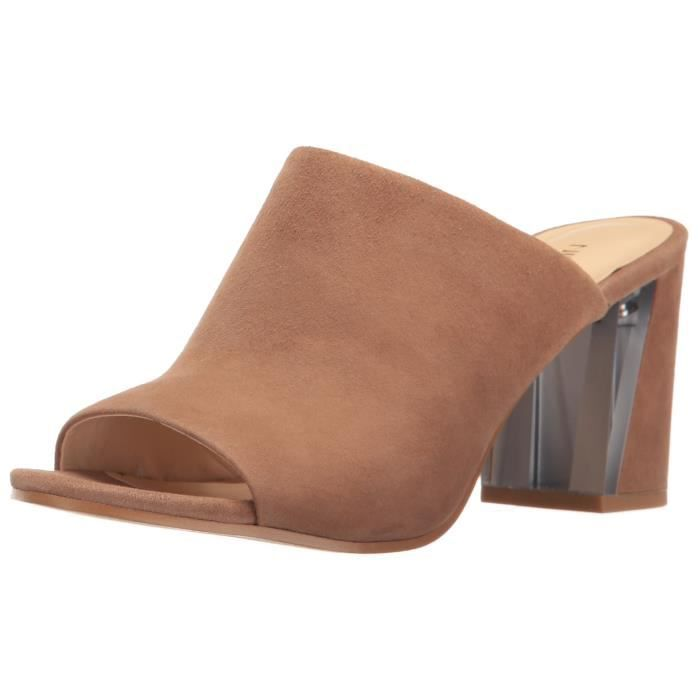 Nine West Gemily Suede Mule CLC6R Taille-38