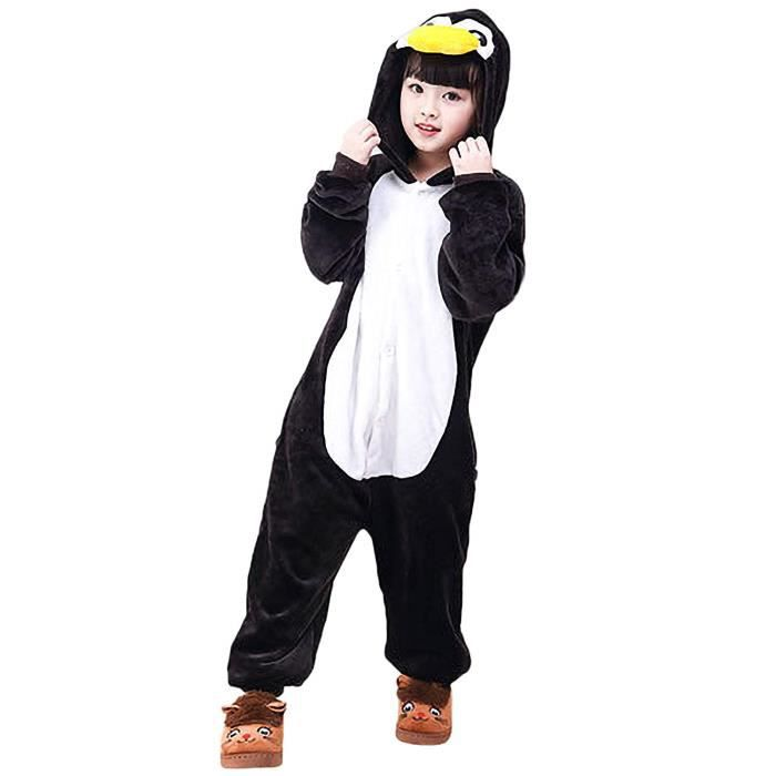 get online designer fashion newest collection Enfants Onesies Combinaison Pyjama Enfant Unisexe Filles Garçons Animal  Cochon Vache Licorne Chaud Dé