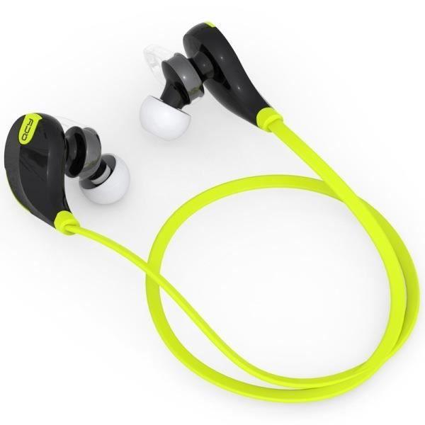 Qcy Qy7 Sans Fil Bluetooth 4.1 Stéréo Écouteurs Sport Courir Avec Micro Casque Vert