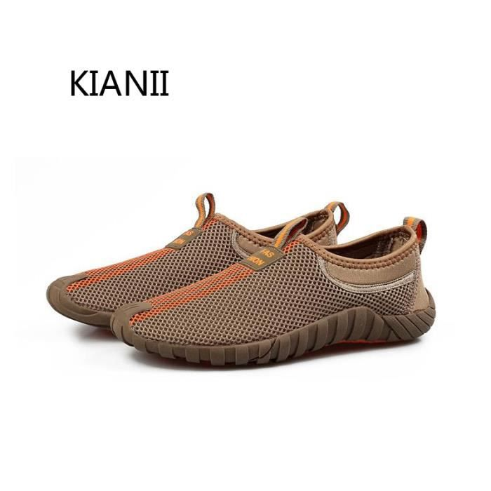 Baskets RN-11 Chaussures Homme Sport Sneakers Marron tJnEu6sgo