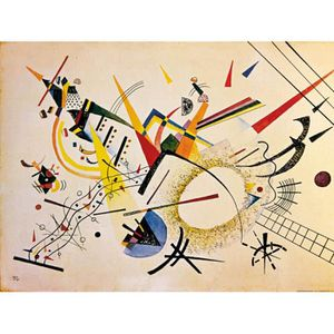 AFFICHE - POSTER Vassily Kandinsky Poster Reproduction - Compositio