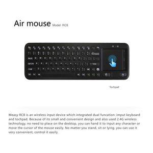 SOURIS Souris à télécommande 2.4G d'air de clavier sans f