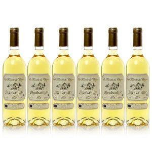 VIN BLANC Lot de 6 bouteilles Château Cluzeau La Tourelle de