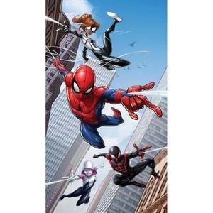 TIRELIRE Rideau Spiderman - 1 pièce