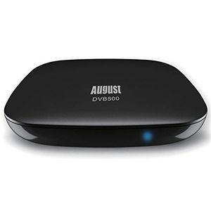 RÉCEPTEUR - DÉCODEUR   August DVB500 – Smart Décodeur-Enregistreur TNT HD