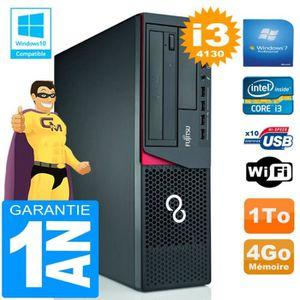 UNITÉ CENTRALE  PC Fujitsu Esprimo E720 E85+ SFF I3-4130 RAM 4Go D