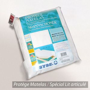 PROTÈGE MATELAS  Protège matelas absorbant Antonin 2x80x200 Spéc...