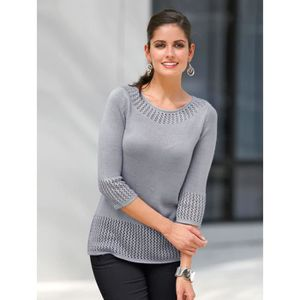 PULL Pull tunique manches 3/4 femme...