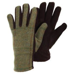 9a0690d48da26 Gants en tweed - Femme Vert Vert - Achat / Vente gant - mitaine ...
