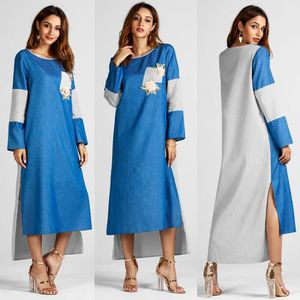 ROBE Manches longues Mode femmes musulmanes Parti Robe