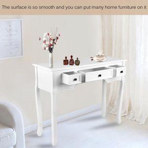 Console meubles achat vente console meubles pas cher black friday le 24 11 cdiscount - Console blanche avec tiroir ...