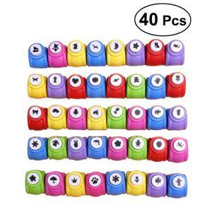 Perforatrice - Poinçon 40pcs Mini Paper Craft punch enfants bricolage gau