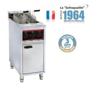 FRITEUSE ELECTRIQUE Friteuse électrique sur coffre - 2 x 10 litres - 1
