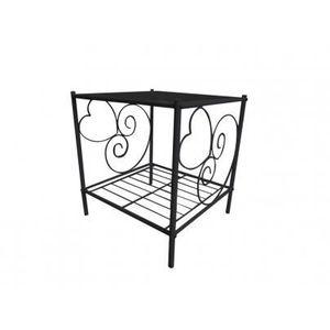 Table de nuit metal achat vente table de nuit metal - Table de chevet fer forge noir ...