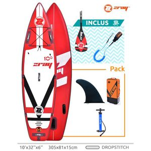 STAND UP PADDLE SUP gonflable Stand up paddle  Zray FURY 10' 305x8