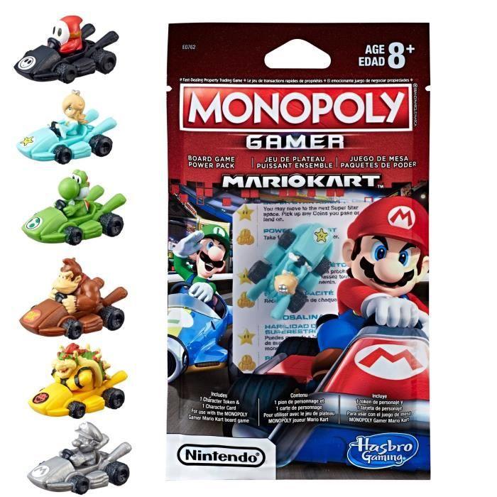 MONOPOLY - Mario Kart - Personnages additionnels (modèle aléatoire)